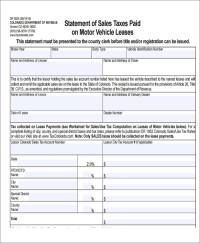 5+ Sample Sales Tax Receipts | Sample Templates