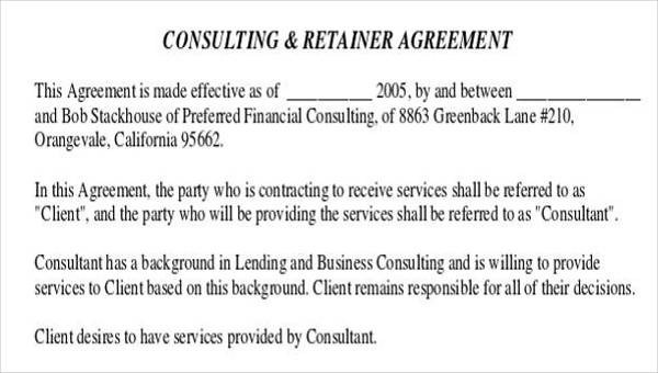 28+ Consulting Agreement in PDF