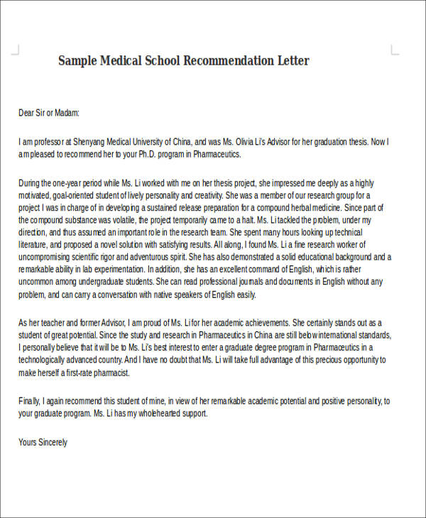 Reference Letter Umich  Letter Of Application For Employment Sample