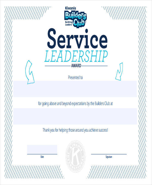 wording 23 blank award certificates sample templates