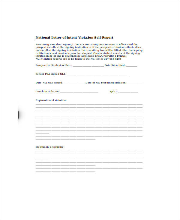 57+ Letter of Intent Examples \u2013 PDF, Word, Pages, Google Docs