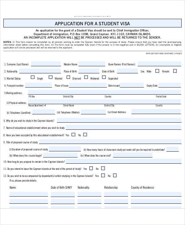 Sample Medical Form