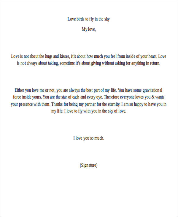 How To Write A Short Love Letter Images - Letter Format Formal Sample