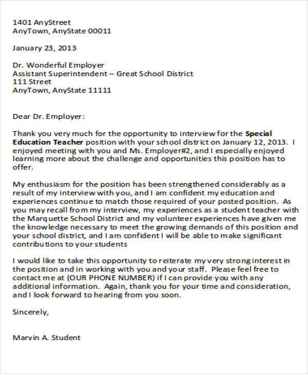 pa school letters of reference sample thank you doctor letter