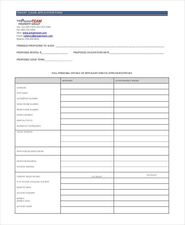 66+ Basic Application Forms Sample Templates