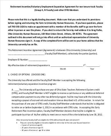 41+ Employment Agreement Samples Sample Templates
