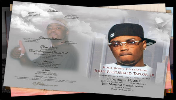 sample obituary templates