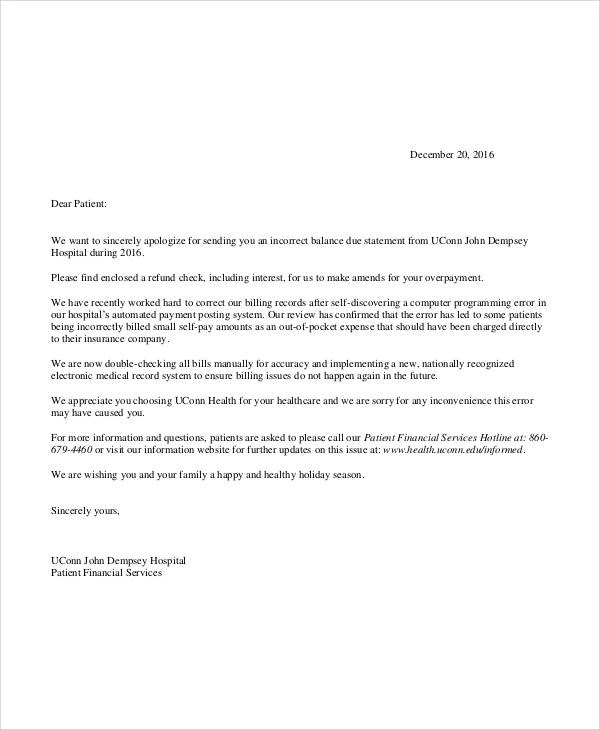 Apology Letter Examples - apology letter to family