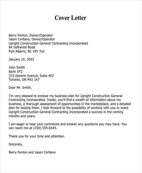 38+ Business Proposal Letter Examples - business proposal cover letter