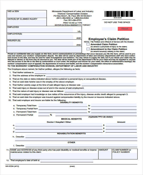 6+ Employee Petition \u2013 Free Sample, Example, Format Download