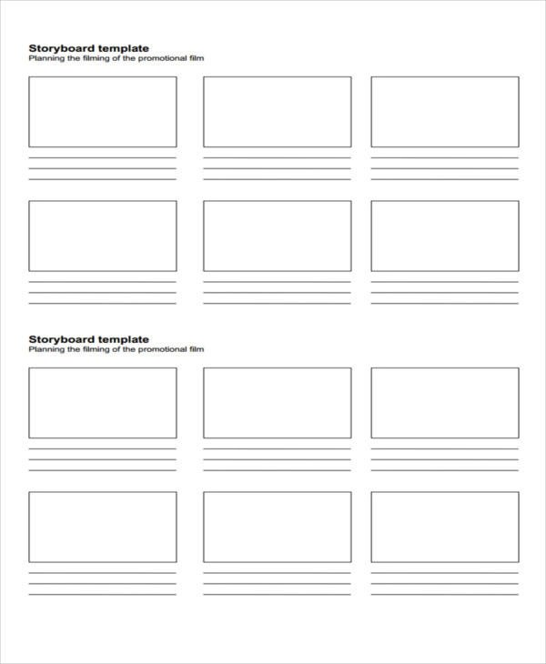 44 Storyboard Templates in PDF - free storyboard templates