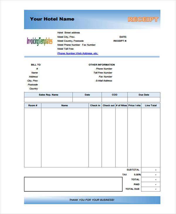42+ Payment Receipt Sample - payment receipt sample