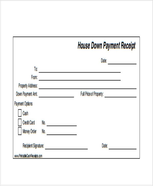 42+ Payment Receipt Samples Sample Templates - payment slip sample