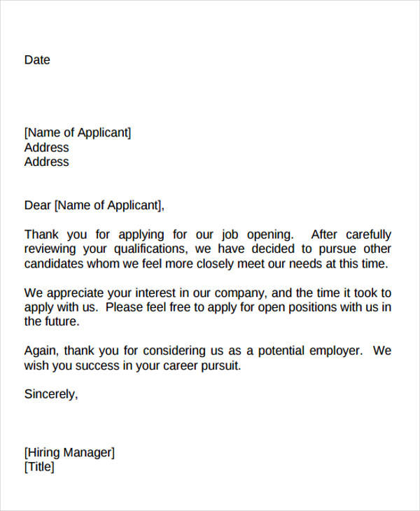 40+ Sample Interview Thank-You Letters Sample Templates - thank you letter to employer
