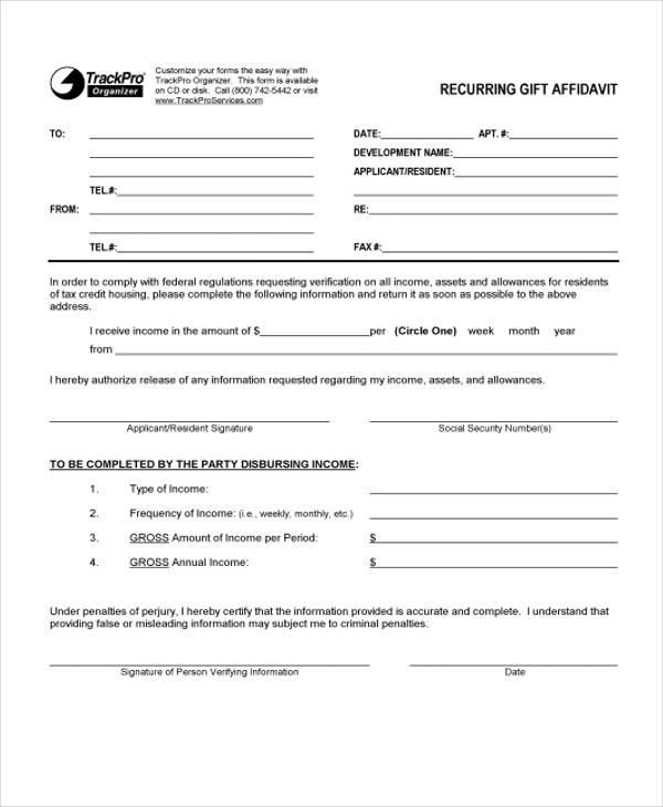 affidavit sle format - 28 images - affidavit letter for immigration - affidavit sample format