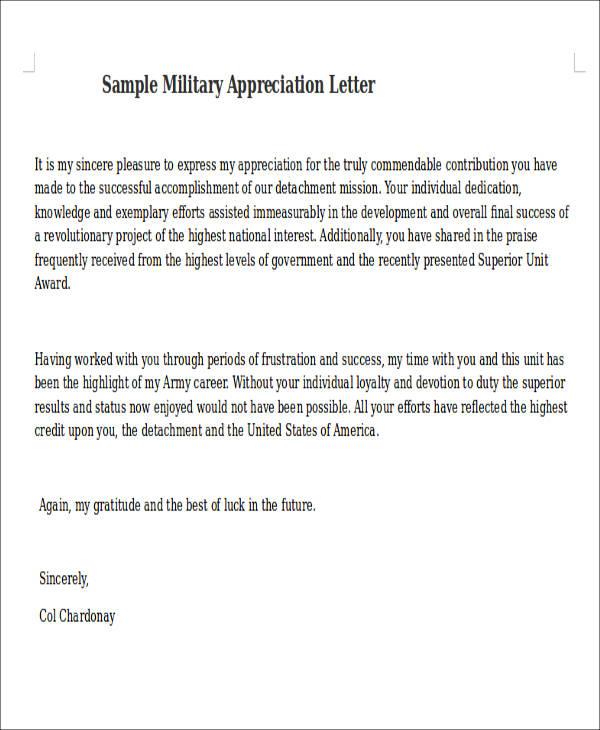 51+ Appreciation Letter Samples - PDF, Word, Pages, Google Docs