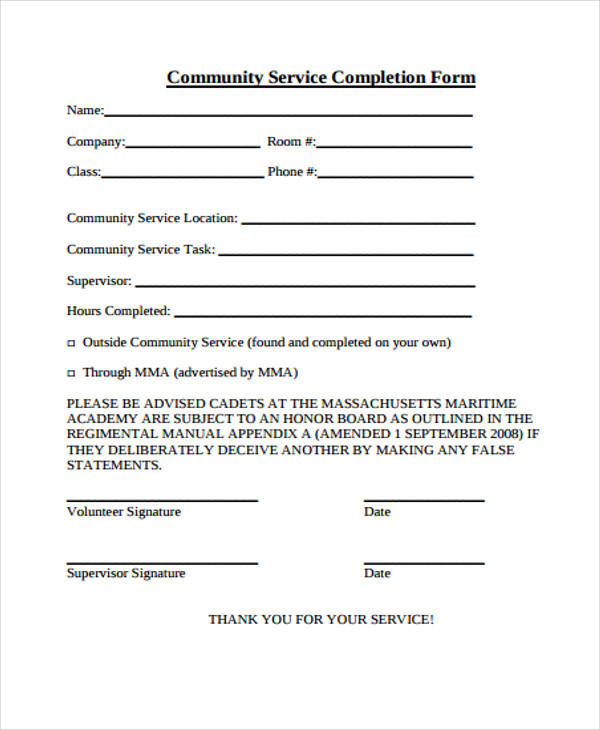 20+ Service Form Formats Sample Templates