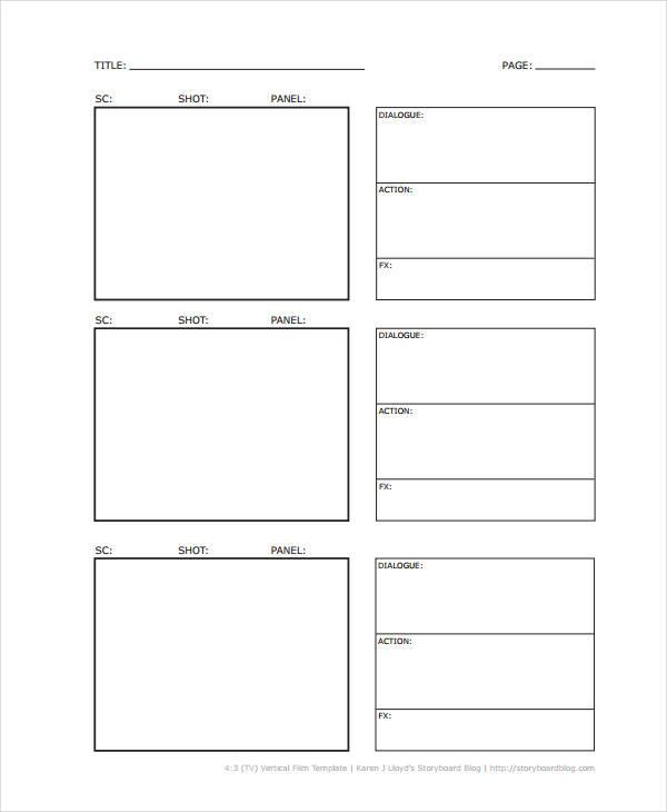 5+ Vertical Storyboard Sample - Free Sample, Example, Format Download - vertical storyboard