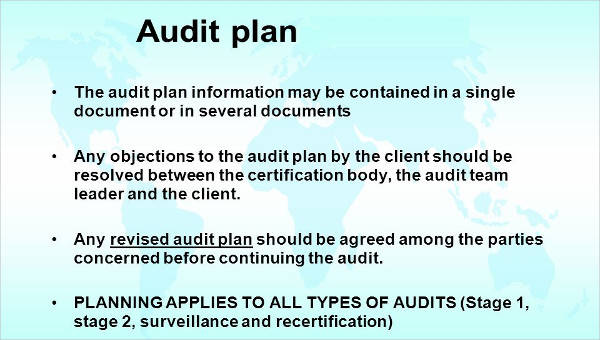 6+ Audit Plan Samples  Templates in PDF