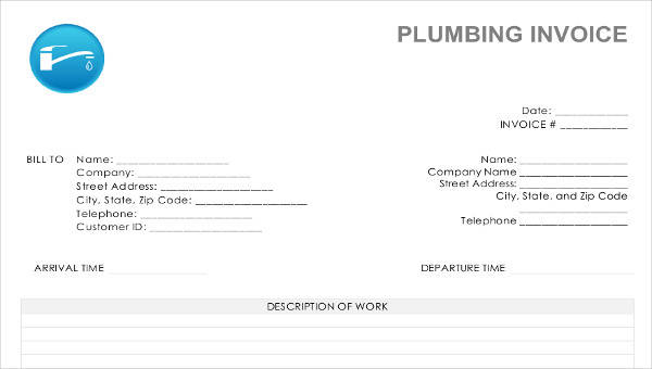 6+ Job Invoice Template - Examples in Word, PDF
