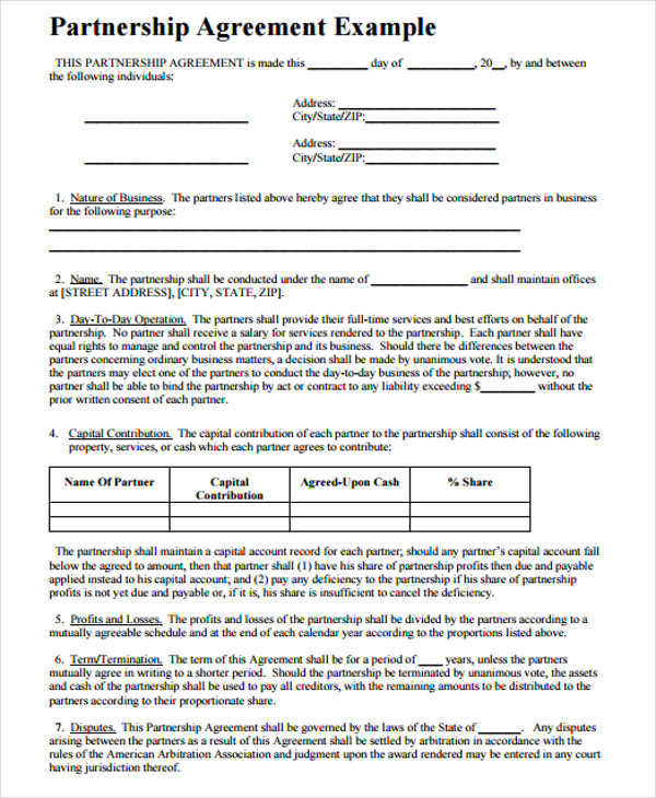 6+ Business Contract Template \u2013 Free Sample, Example, Format