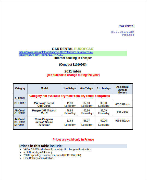 rent invoice sample