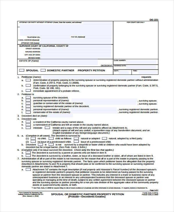 7+ Community Petition \u2013 Free Sample, Example, Format Download