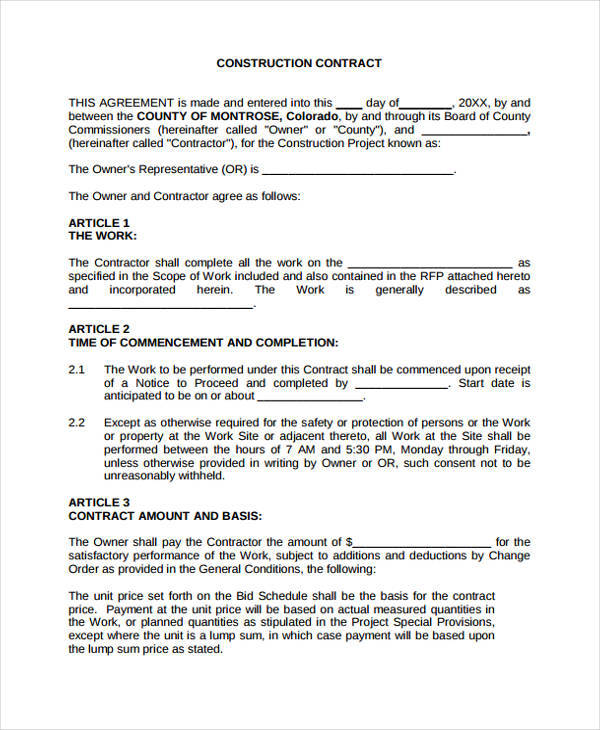 pest control bid template cleaning contract proposal template