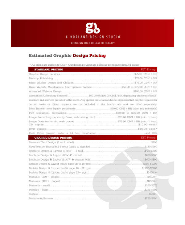39 Quotation Formats  Samples Sample Templates - Price Quotation Format
