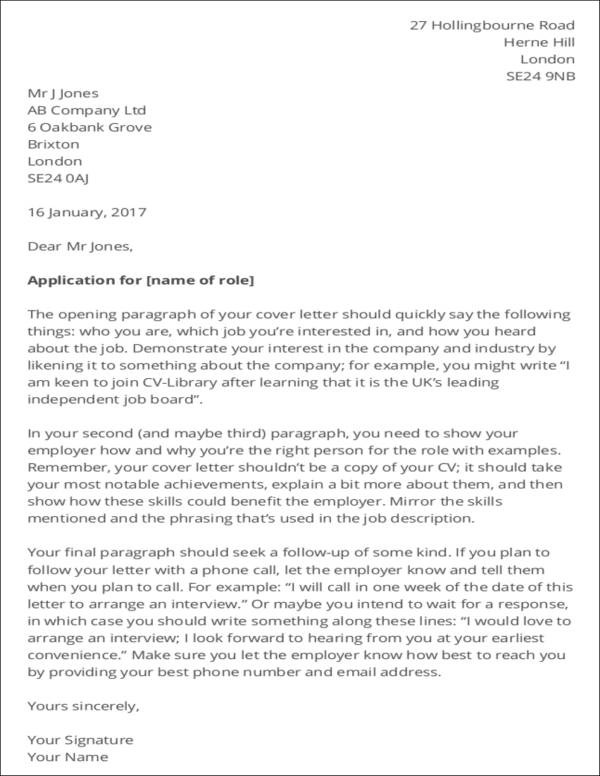 cover letters read now template