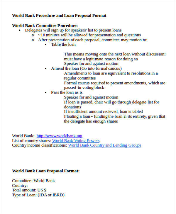 Loan Proposal Sample Call Center Business Proposal Sample - formal proposal example