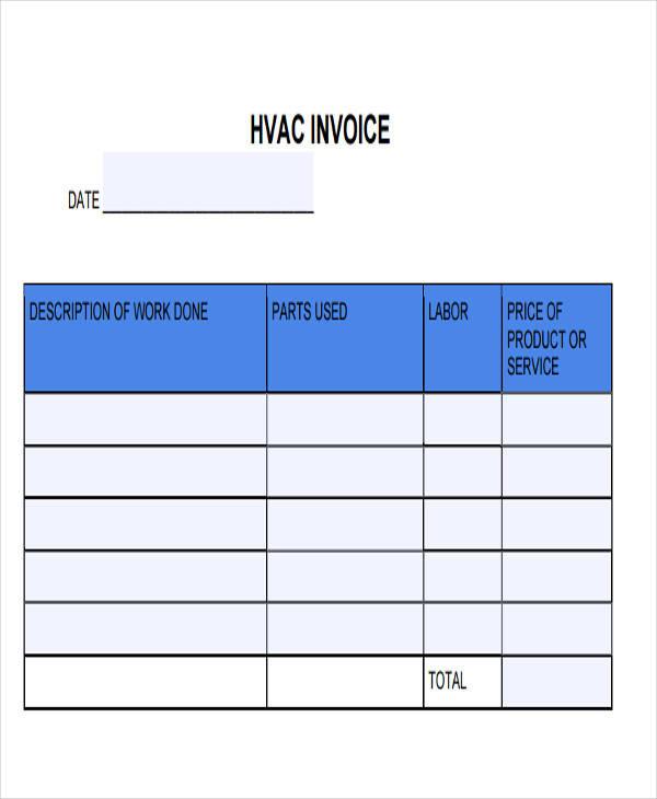 Contractor Invoices - cv01billybullock - contractor invoices