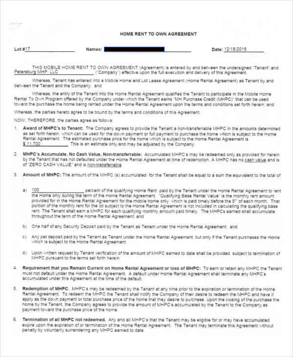 4+ House Rent Contract Samples  Templates - PDF, DOC - house rental contract