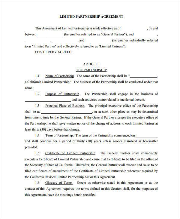 partner contract agreement - Minimfagency