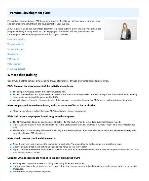 6 Development Plan Samples  Templates Sample Templates - development plan template for employees