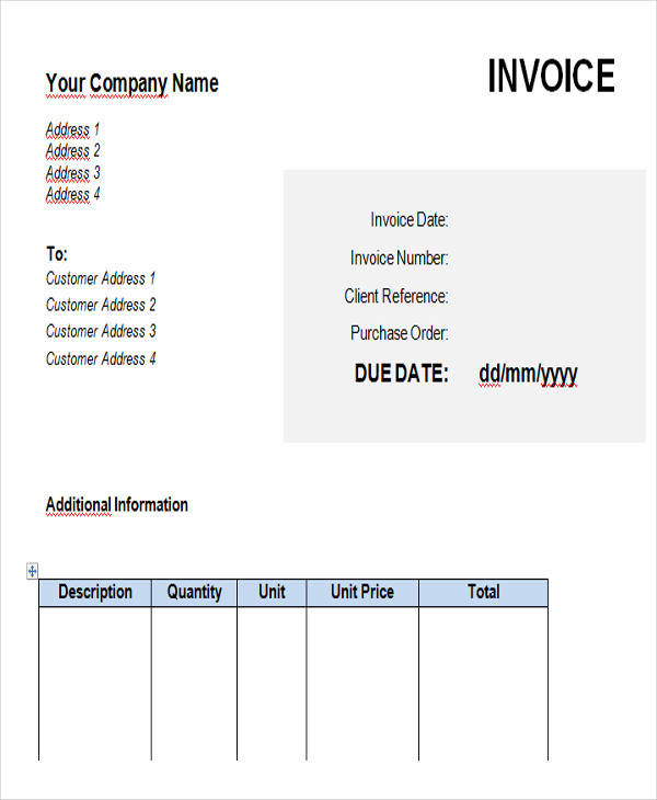 18+ Free Contractor Invoices - contractor invoices