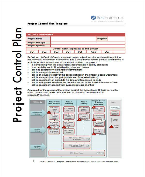 10 Control Plan Samples  Templates Sample Templates - control plan