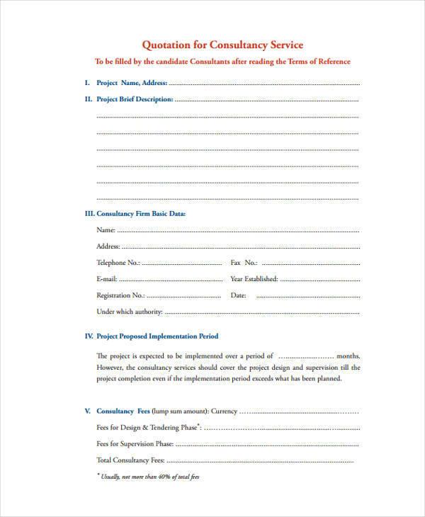 sample project quotation - gerhard-leixl - price quotations
