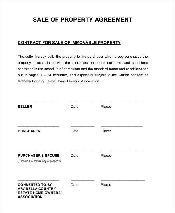 property sales contract - Wwwwellnessworks - Home Sales Contract