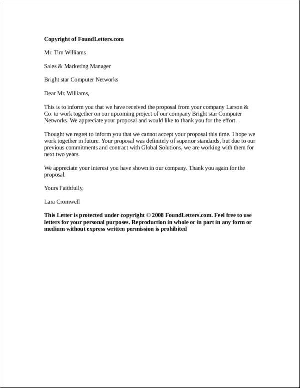 4 Things You Need to Know about Investor Rejection Letter Sample