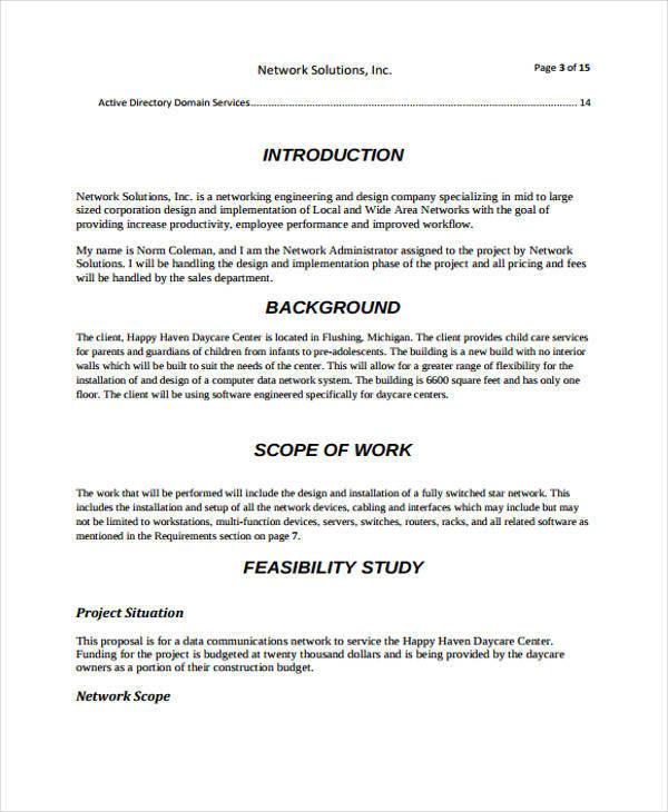 network design proposal for a company - Josemulinohouse