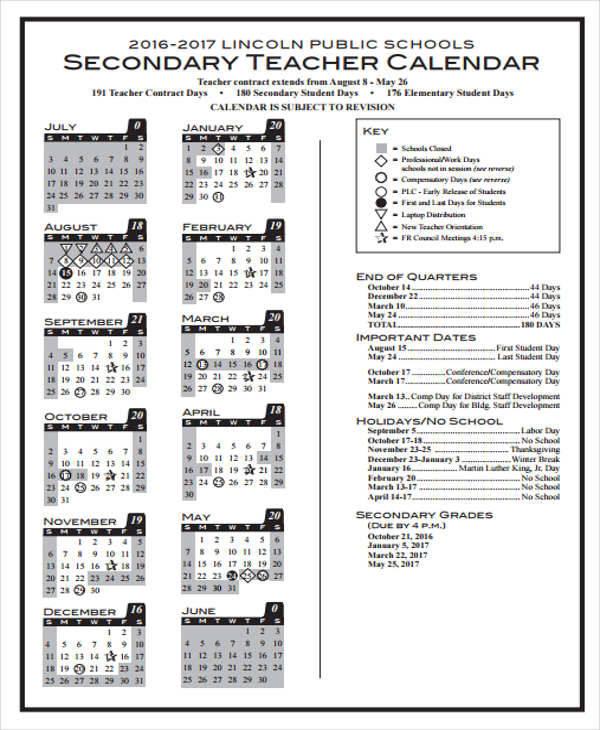 36 Printable Calendar Samples  Templates Sample Templates - calendar quarters