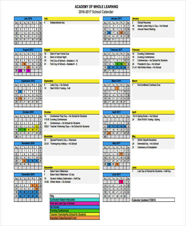 8+ Event Calendar Templates - Free Sample, Example, Format Download - sample activity calendar template