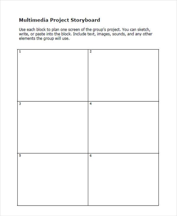 Project Storyboard Free Sample Example Format Download Powerpoint