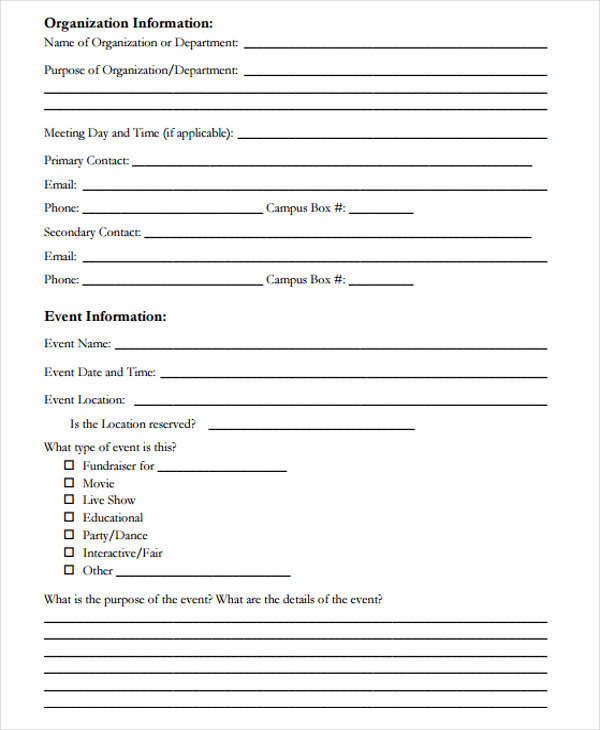 46+ Event Proposal Samples  Templates - Word, PDF, Pages