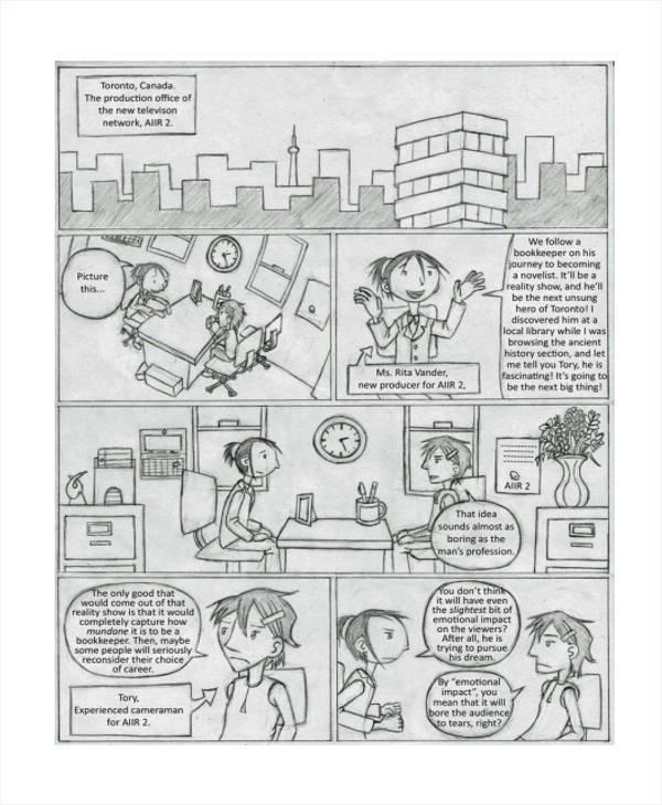 6 Visual Storyboard Sample - Examples in Word, PDF - visual storyboards