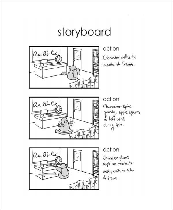 8+ Animation Storyboard \u2013 Free Sample, Example, Format Download