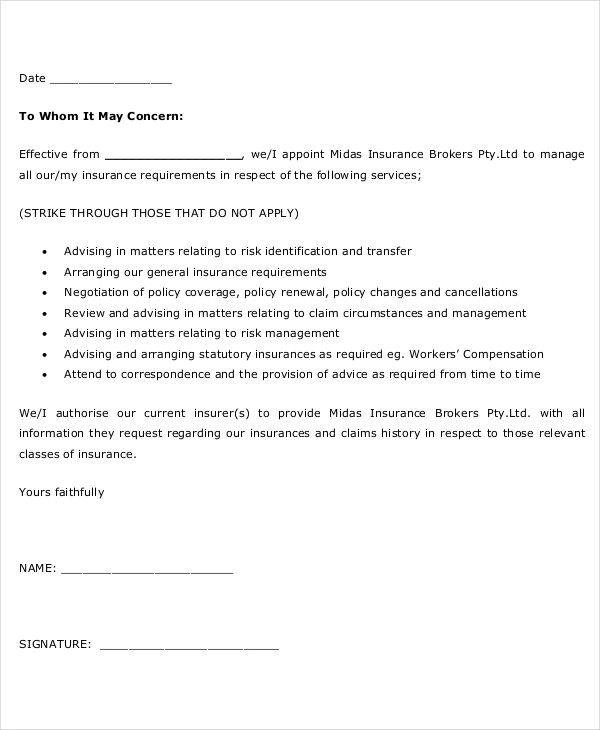 7 Sample Agent Appointment Letter - Free Sample, Example, Format