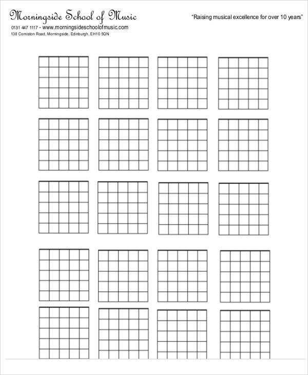 6+ Music Chart \u2013 Free Sample, Example, Format Download Sample - music chart