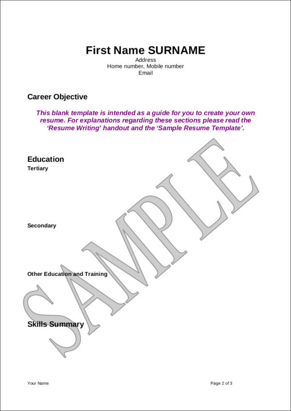 Avoiding First Resume Mistakes How Many Pages Should A Resume Be - avoiding first resume mistakes